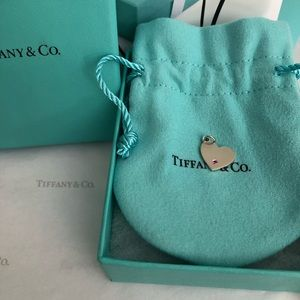 Tiffany & Co. 18K Heart Charm